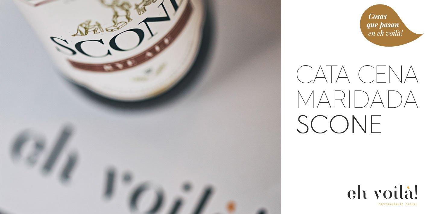 Eh Scone! Cata-Cena Maridada Cerveza Artesana